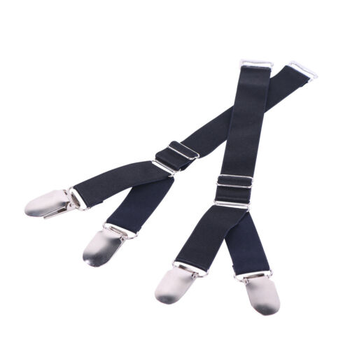 unisex metal garter belt straps suspender clip elastic stockings corset holders ebay