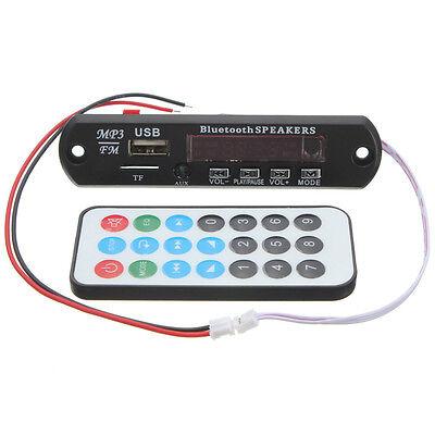 Wireless Audio Module USB TF Radio Bluetooth MP3 WMA Decoder Board 12V for Car