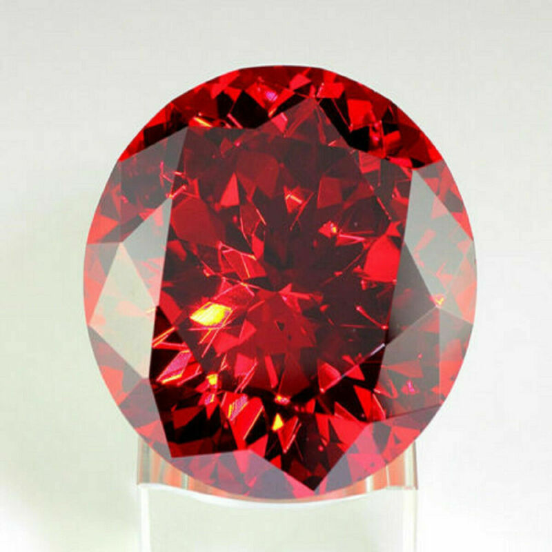16.88Ct Round CUT RED Round Naked Stone SAPPHIRE AAA+ UNHEATED 14MM GEMSTONE