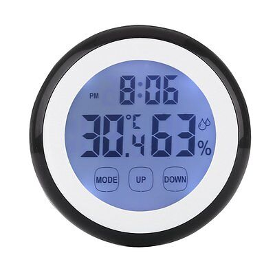 New Digital LCD Outdoor Indoor Weather Thermometer Hygrometer Humidity Meter C/F