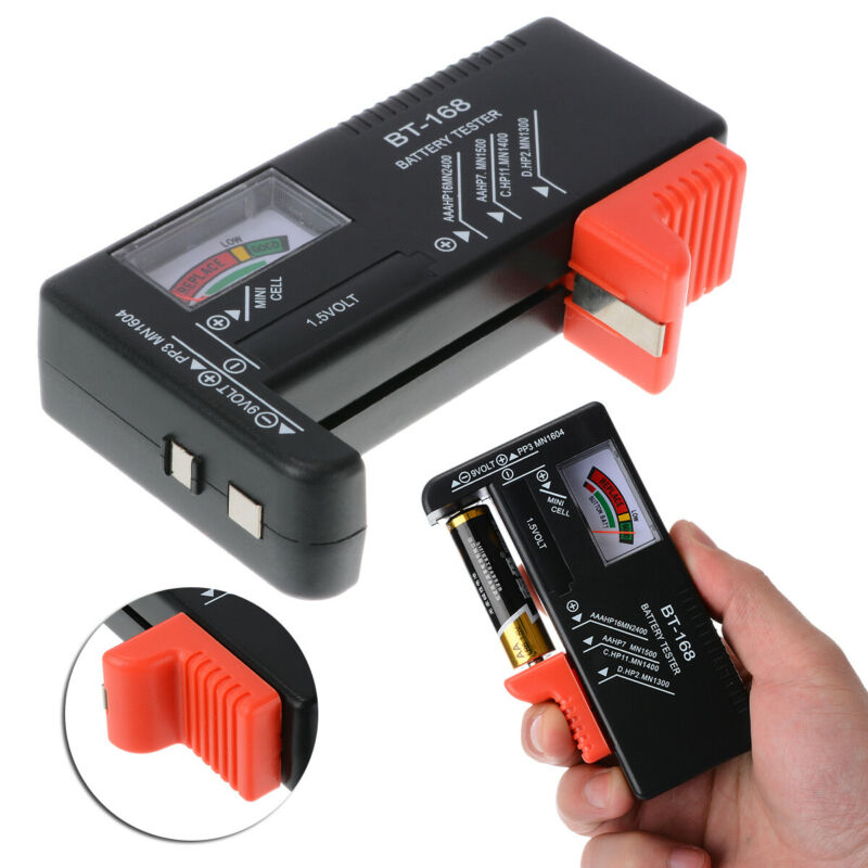 universal battery tester checker for aa aaa