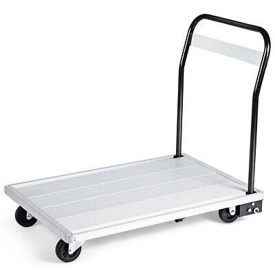 Folding Aluminum Platform Cart Moving Platform Hand Truck 770lbs Weight Capacity