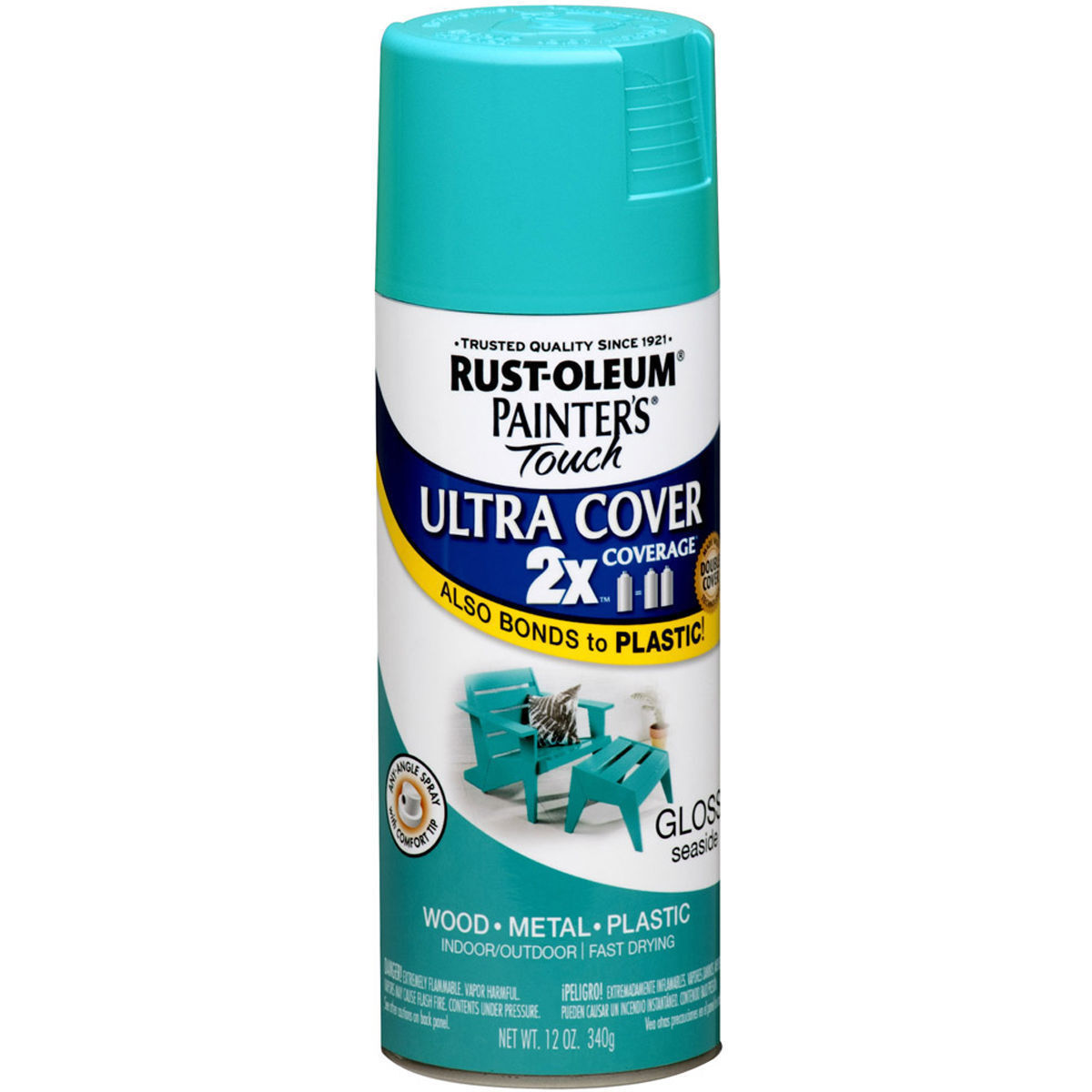 Rust-Oleum Corporation Painters Touch 267116 Ultra Cover 2x Gloss ...