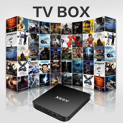Android 6.0 Media Streamer S905X Quad Core 4K HD1GB/8GB IR remote support Wifi