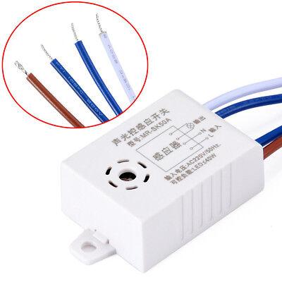 Ac 220v Sound Voice Sensor Intelligent Auto On Off Light Switch Photo Controller
