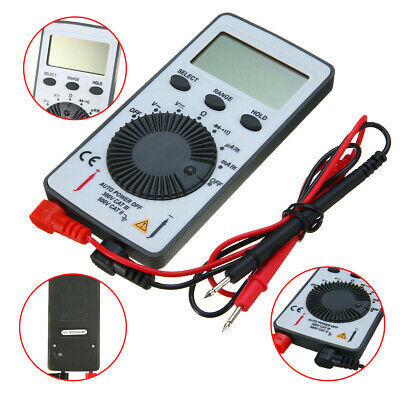Pocket Lcd Digital Multimeter Volt Acdc Ammerter Ohmmeter Portable Tester Meter