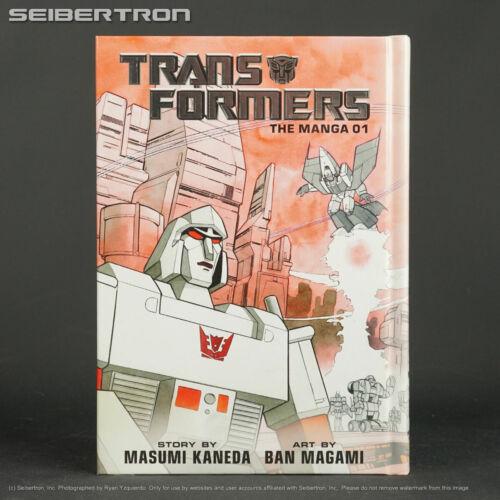 TRANSFORMERS: THE MANGA Vol 1 variant Classic TV Japanese Comics Viz 2020 HC New