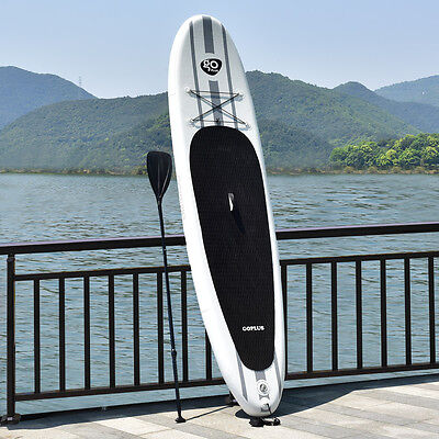 335CM/11FT Inflatable Surfing Board Soft Surf Stand Up Paddle Board W/ Package