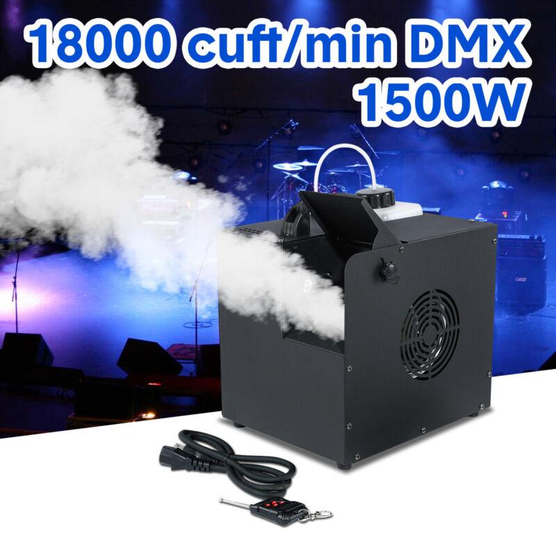 1500W DMX Low Profile Hazer Haze Smoke Fog Machine Theater Stage Effect Party DJ