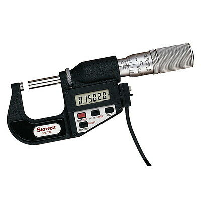 Starrett 733xfl-1 Electronic Micrometer - Inch Metric