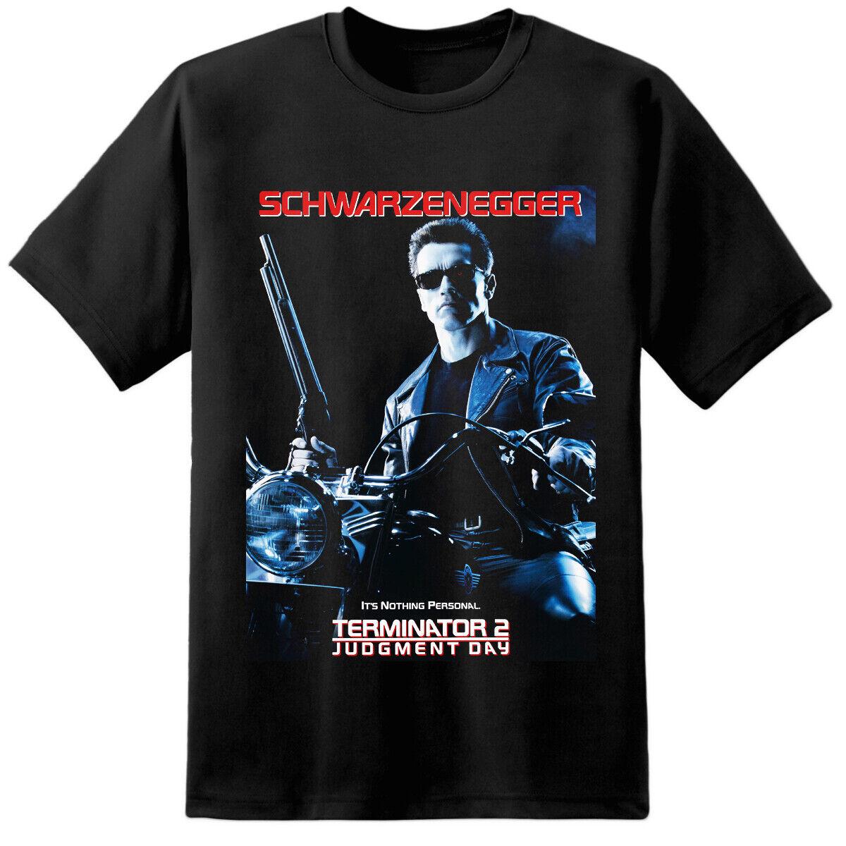 Mens Sarah Connor Terminator 2 Movie T Shirt Cyberdyne Systems Skynet Nostromo