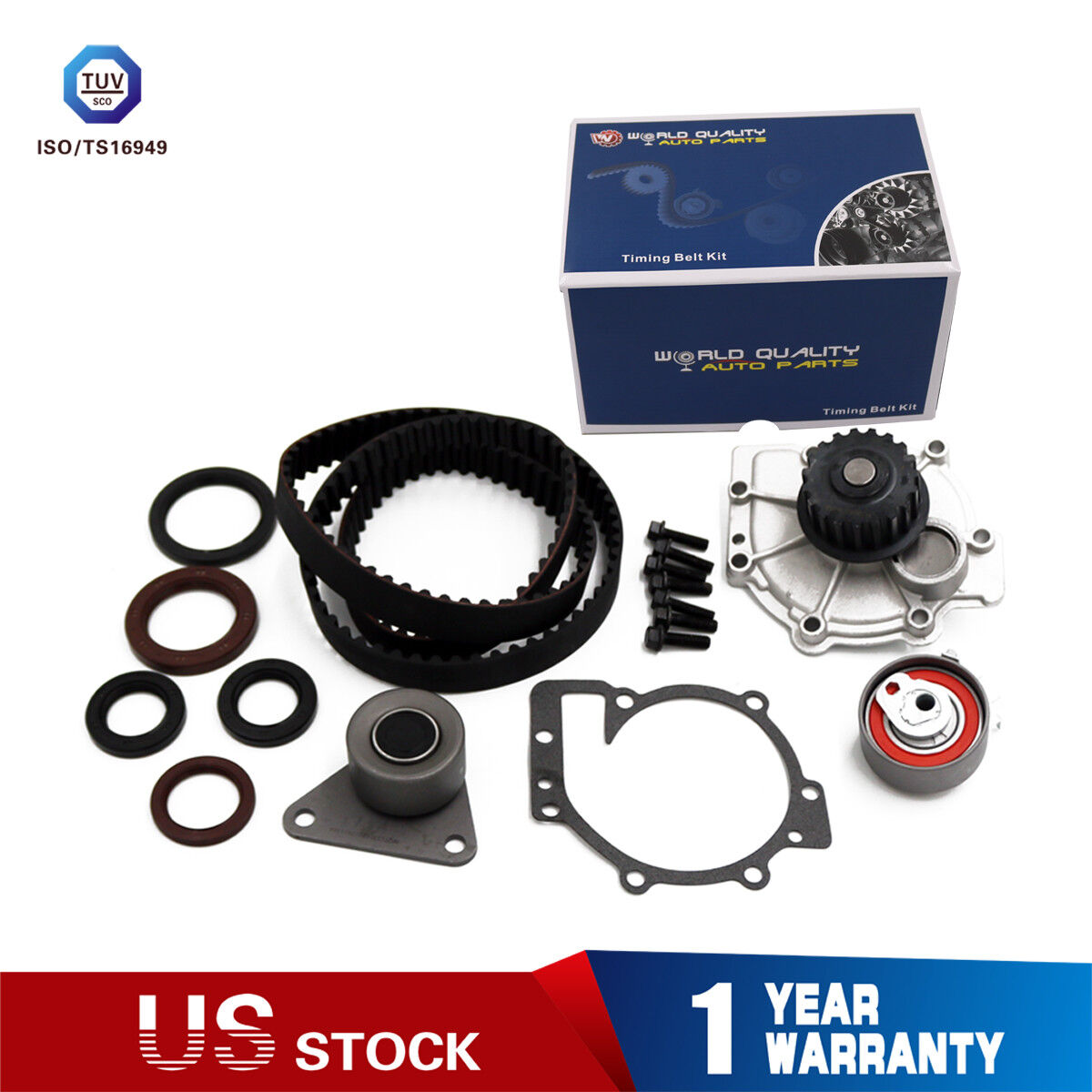 For Volvo C70 S40 V70 XC70 To Engine 3188688 CRP Timing Belt /& Water Pump Kit