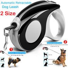 Automatic Retractable Dog Leash Pet Collar, 16ft for dogs up to 110 lbs