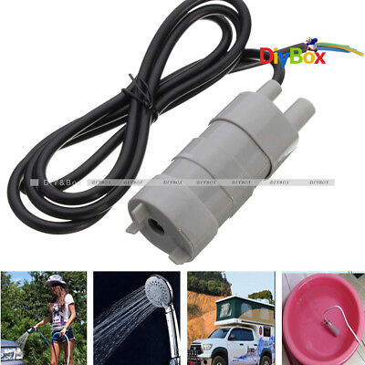 14lmin 600lh Micro Submersible Motor Water Pump 5m 6-15v Jt-500 Dc 12v 1.2a
