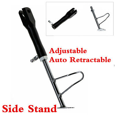 CNC Aluminum Alloy Motorcycle Foot Kickstand Adjustable Non-slip Side Support
