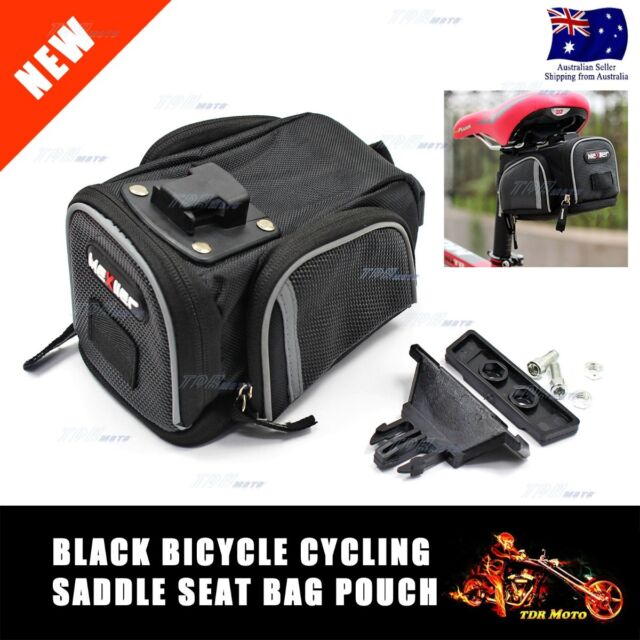Large Outdoor 100% New Cycling Bicycle Bike Saddle Seat Bag Back Pouch Mexller