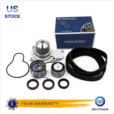 Timing Belt Water Pump Kit Fits 02-09 Chrysler PT Cruiser Jeep Liberty 2.4L 16V
