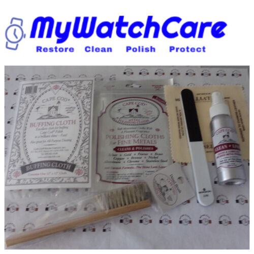 Rolex Watch Care Kit - Cleaning, Buffing & Polishing - Makes A Perfect Gift