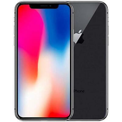 Apple iPhone X 64GB Factory Unlocked Phone - Space Gray