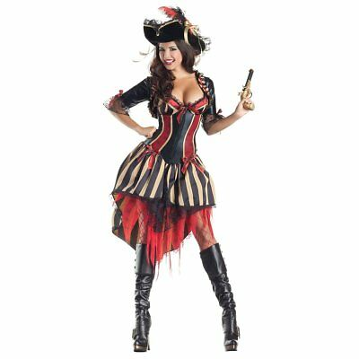 Party King Women's Pirate Body Shaper Costume - Party King Costumes