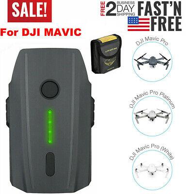 3830mAh Do a moonlight flit Battery for DJI Mavic Pro Quadcopter RC644 11.4V Intelligent LiPo