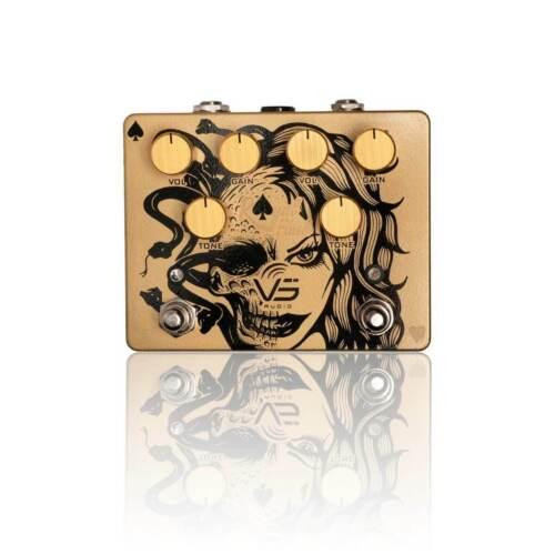 VS AUDIO Golden Royal Flush Overdrive Pedal Limited Edition