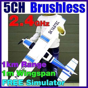 5CH Skyartec Cessna 182 Li-Po Brushless RTF RC Electric Plane Airplane 2.4GHz BL