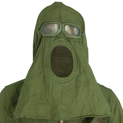 Halloween Scary Costume Russian Soviet Army Vintage Military RF Protective - Scary Halloween Suits