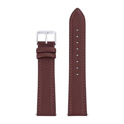 Sterzinger Herren Uhrenarmband Echtleder, Made in Italy braun