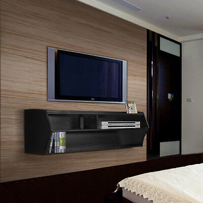 """Umax Floating 48"""" TV Stand Wall Mount Media Console Storage"""