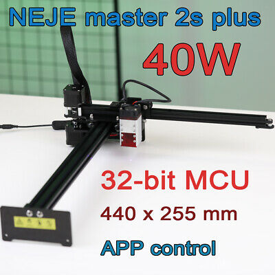 Neje Master 2s Plus 40w Laser Engraving Cutting Machine Engraver Cnc Router Diy