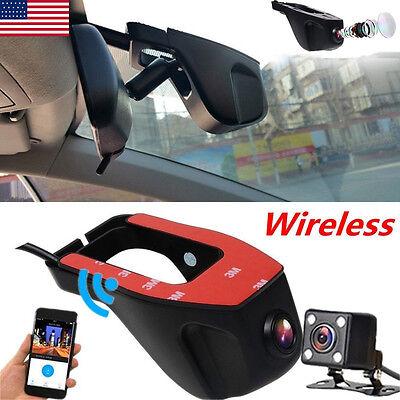 1080P Hd Hidden Wifi Car Dvr Camera Dash Video Recorder G Sensor Night Vision Us