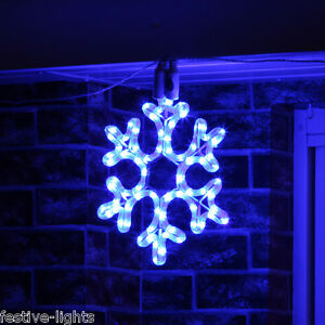 LED-SNOWFLAKE-ROPE-LIGHT-OUTDOOR-CONNECTABLE-CHRISTMAS-SILHOUETTE-DECORATION
