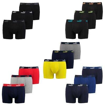 6 er Pack Puma Boxer Boxershorts Herren Unterwäsche sportliche Retro