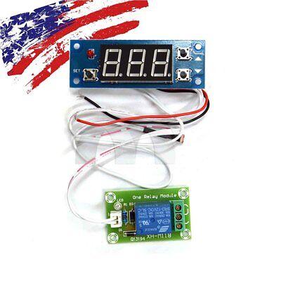 Dcac 12v Photosensitive Resistor Module Digital Display Light Control Switch Us