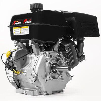 15HP 4-Stroke OHV Horizontal Gas Engine GoKart Log Splitter Recoil Start Engine ()