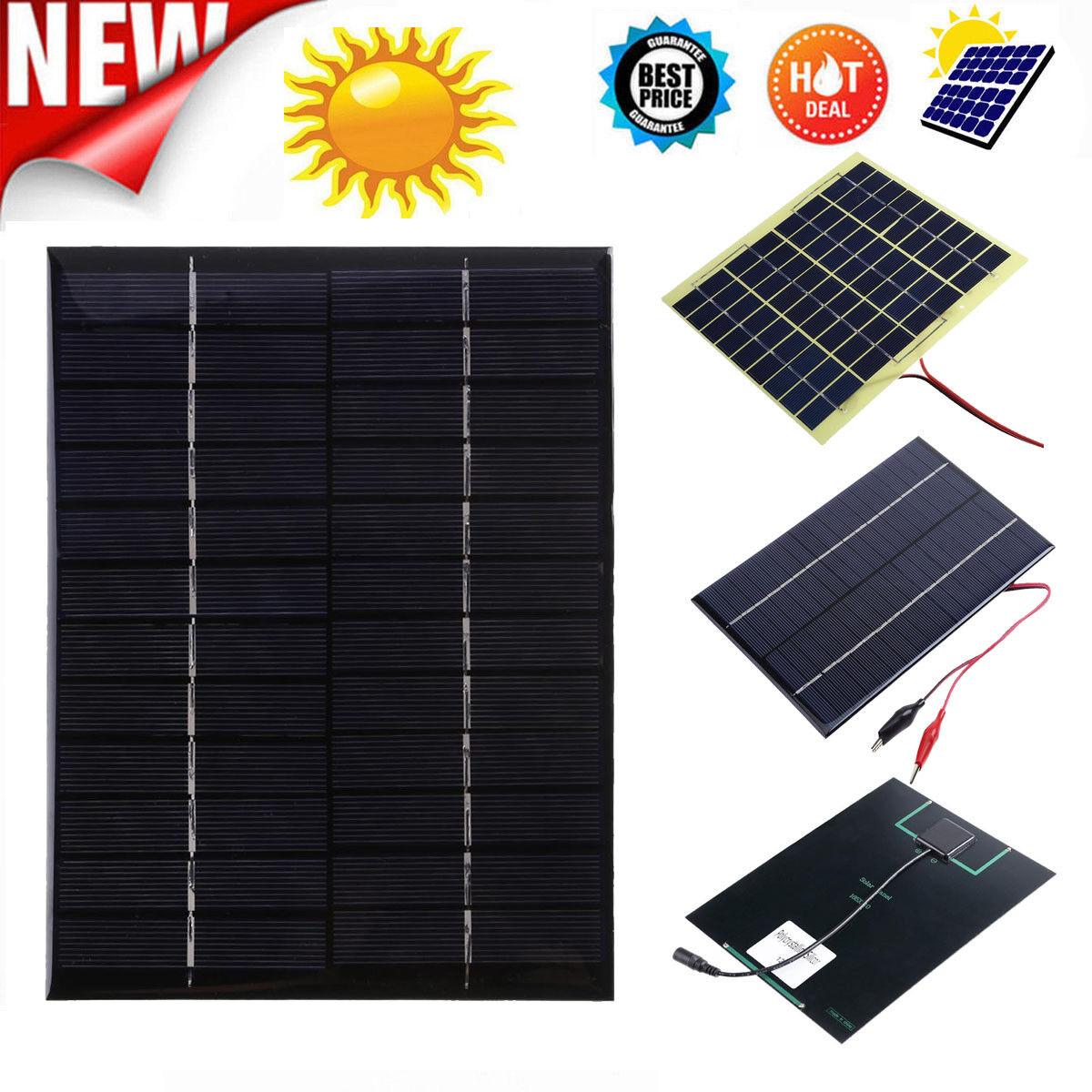 4x 125w Solar Panel Monocrystalline Module 12v Camping Battery Power Caravan For Sale Online Ebay