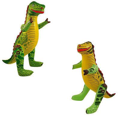 Aufblasbarer Dinosaurier T-Rex Spielzeug Dino 43cm Deko Artikel Ballon Mitgebsel