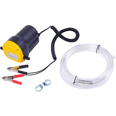 12v 5a Electric Oil Diesel Fuel Fluid Extractor Transfer Scavenge Suction Pumps