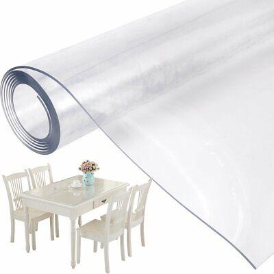 Nappes en PVC transparent 90 x 160 x 0.2 cm impreméables durables *NEUF*