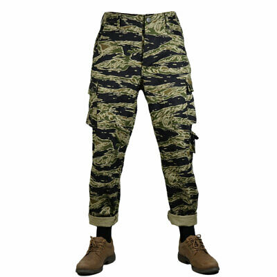 Vietnam War US Army Tiger Stripe Camo TCU Trousers Cotton Size XL