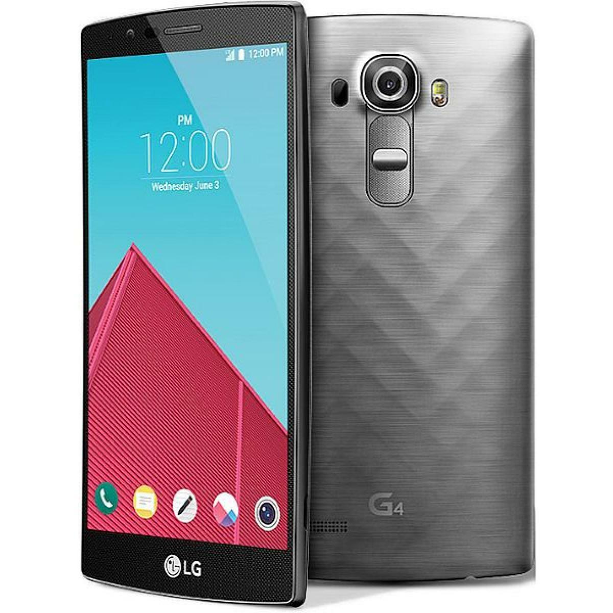Android Phone - LG G4 - VS986 - 32GB - Gray - (Verizon + GSM Unlocked AT&T, T-Mobile) Smartphone