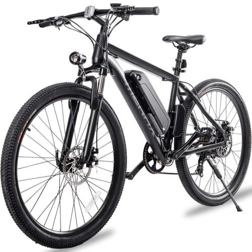 Merax 26''Electric Mountain Bike Bicycle Shimano 36V Lithium