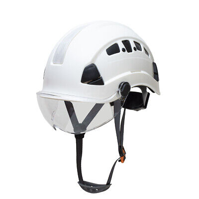 Defender Safety H1-ch With Visor Industrial Construction Safety Helmet