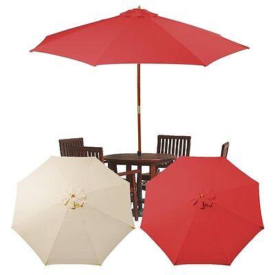 9Ft 8 Rib Patio Umbrella Cover Canopy ...