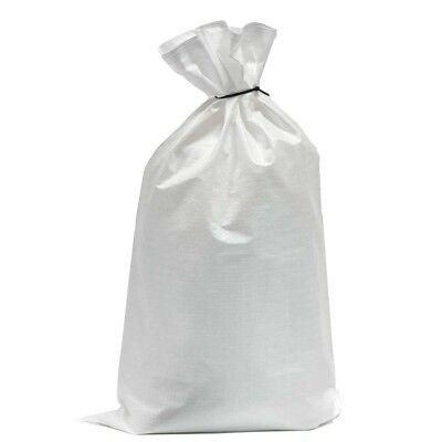 100 x Woven Polypropylene Builder Rubble Sand Sacks Bags 20 x 30