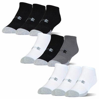 Under Armour Unisex UA Heatgear NS Anti-Odor Arch Support Mesh Socks