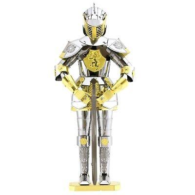 Fascinations Metal Earth European Knight Armor 3D Laser Cut