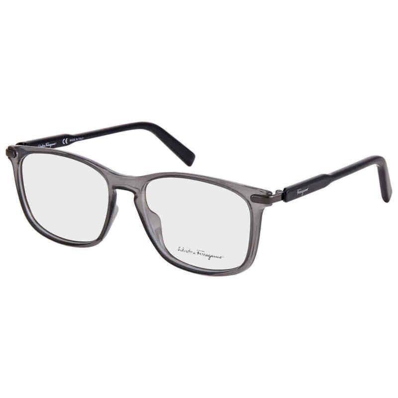 Salvatore-Ferragamo-Men-Grey-Rectangular-Eyeglass-Frames-SF2839-057-54