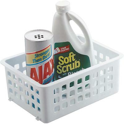 Stacking Basket (Rubbermaid White Slide/Stack Basket )